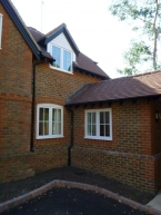 Two storey and single storey side extension